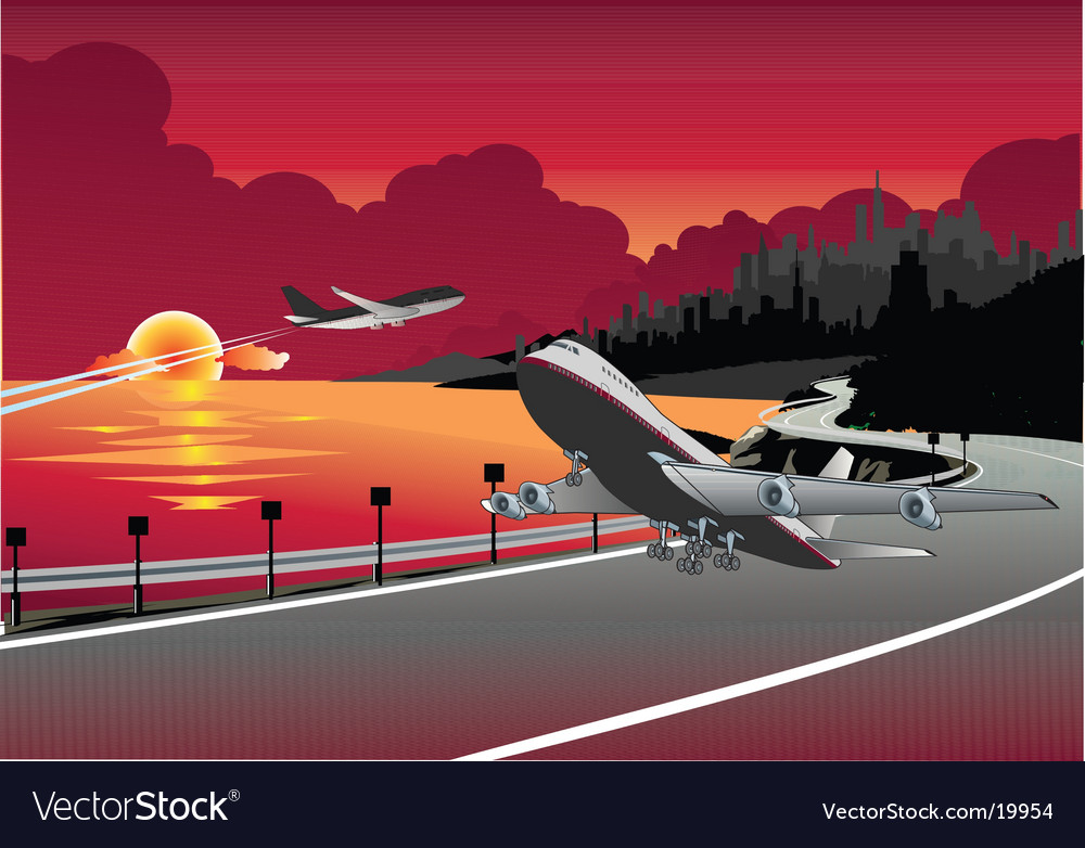 Airport vector | Price: 3 Credit (USD $3)