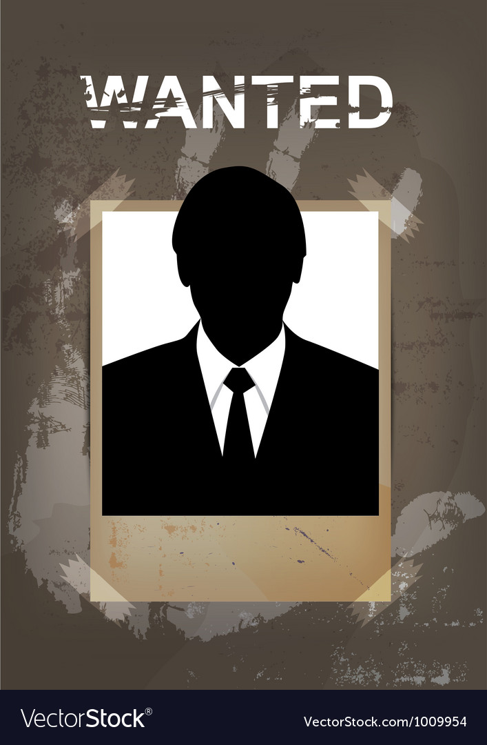 Grunge wanted poster vector | Price: 1 Credit (USD $1)