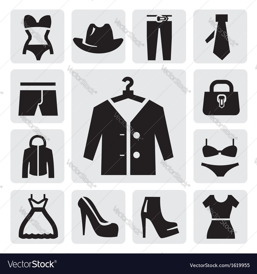 Clothing icon vector | Price: 1 Credit (USD $1)