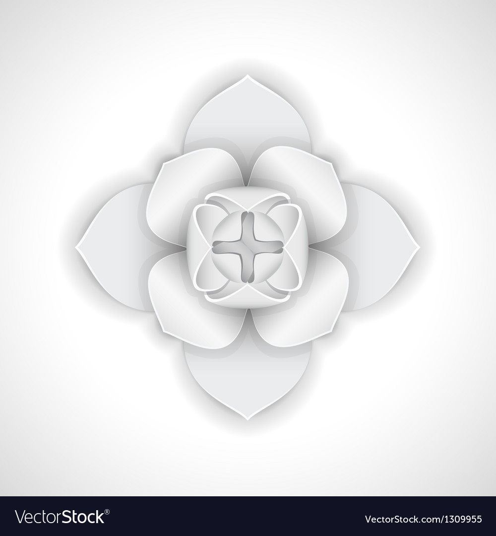 Gypsum flower vector | Price: 1 Credit (USD $1)