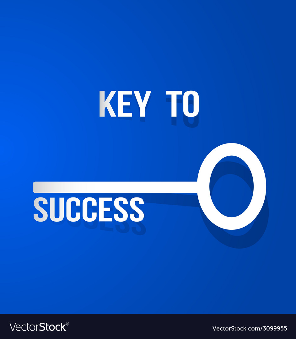 Key to success vector | Price: 1 Credit (USD $1)