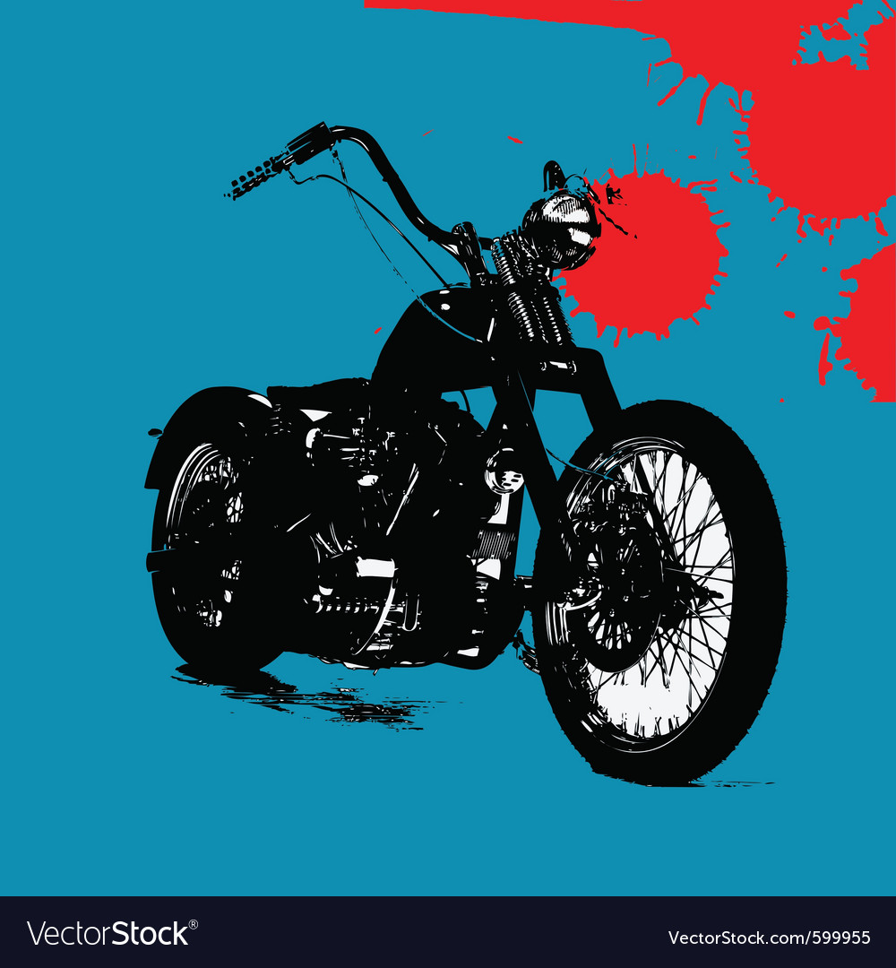 Motorbike background vector | Price: 1 Credit (USD $1)