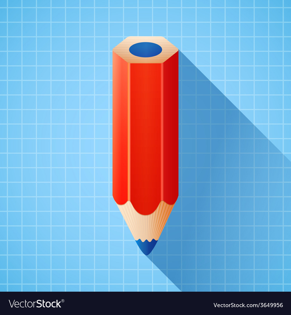 3d colorful pencil vector | Price: 1 Credit (USD $1)