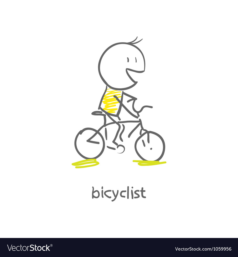 Cyclist vector | Price: 1 Credit (USD $1)