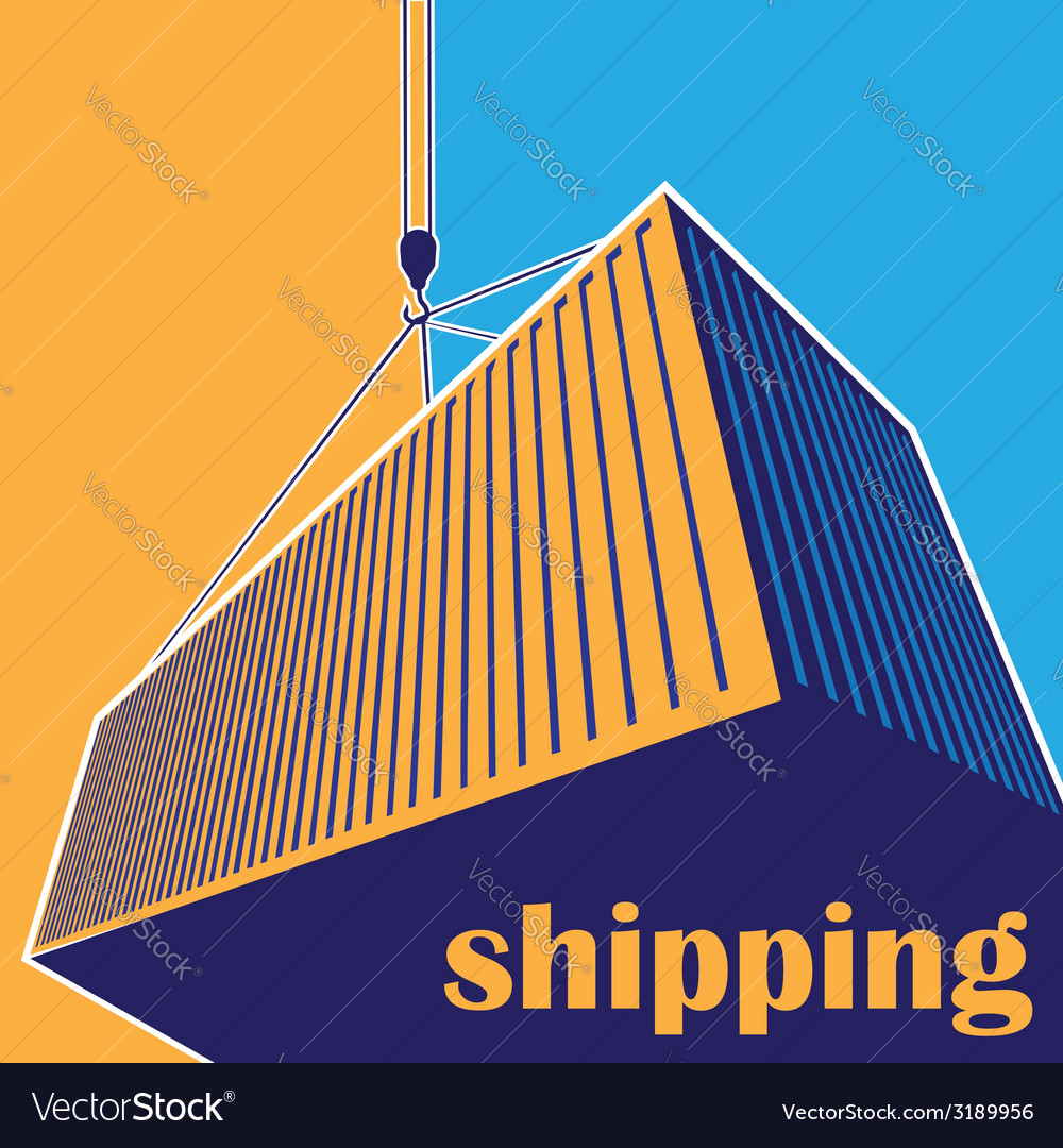 Shipping vector | Price: 1 Credit (USD $1)