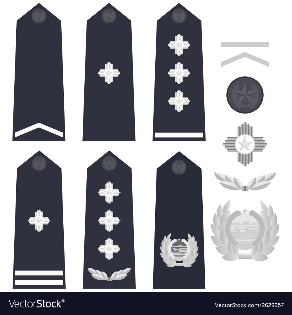 Chinese police insignia vector | Price: 1 Credit (USD $1)