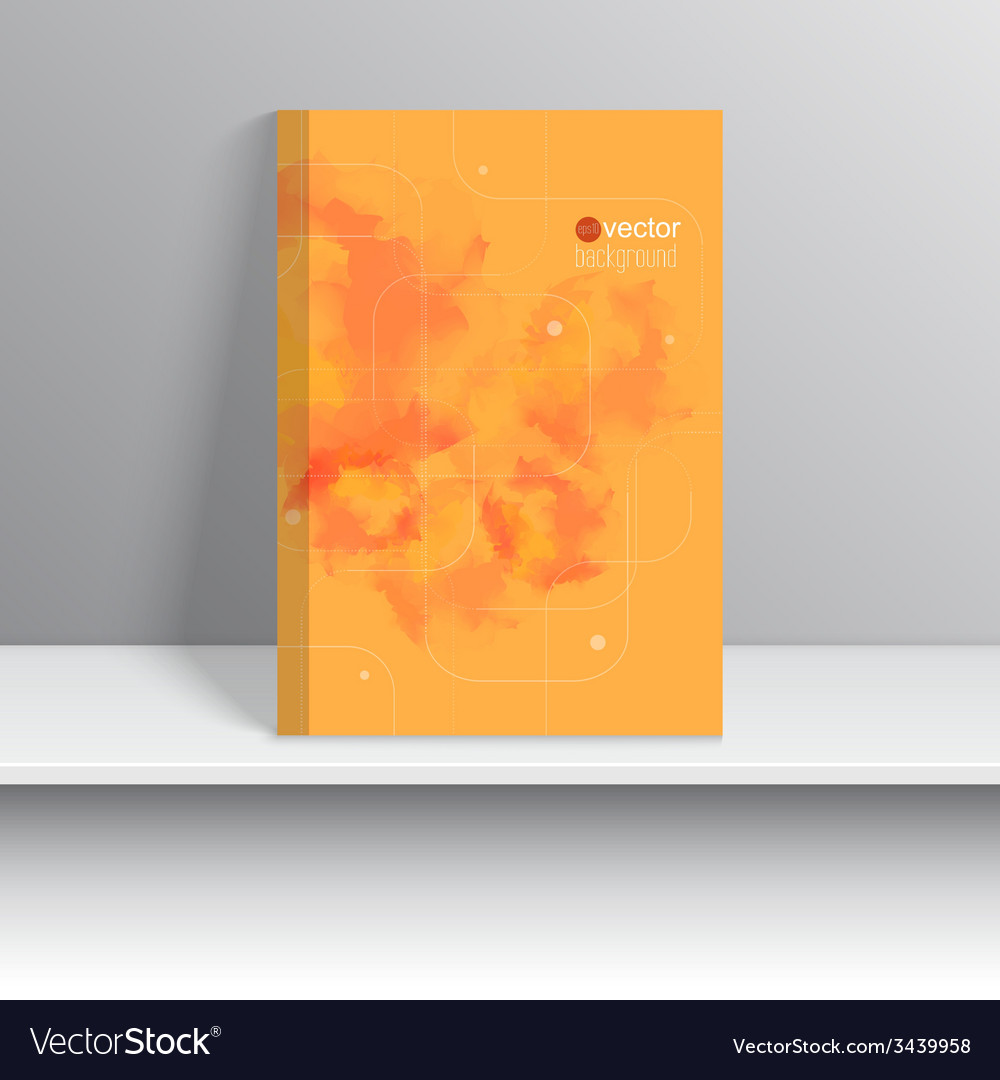 Magazine cover standing on a shelf with gray vector | Price: 1 Credit (USD $1)
