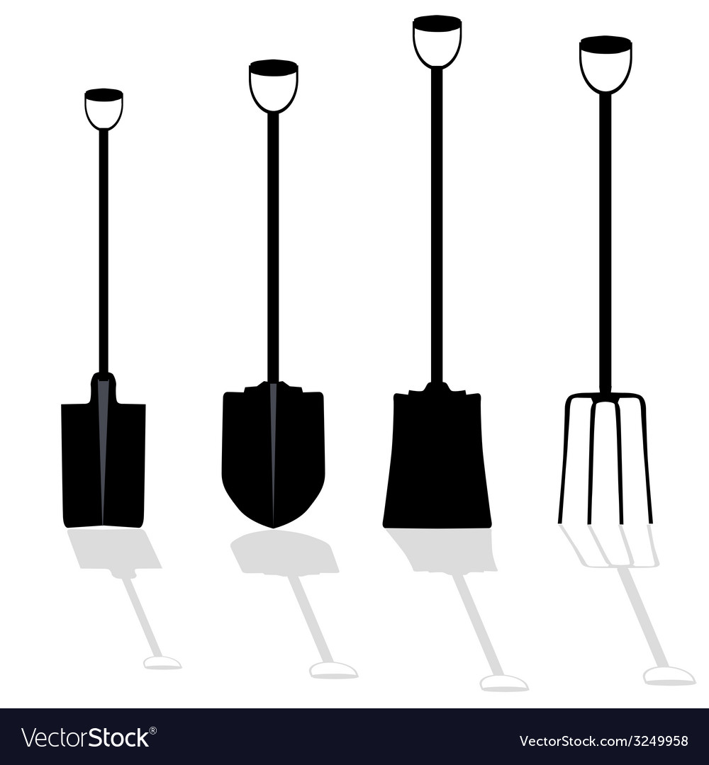 Shovel art vector | Price: 1 Credit (USD $1)