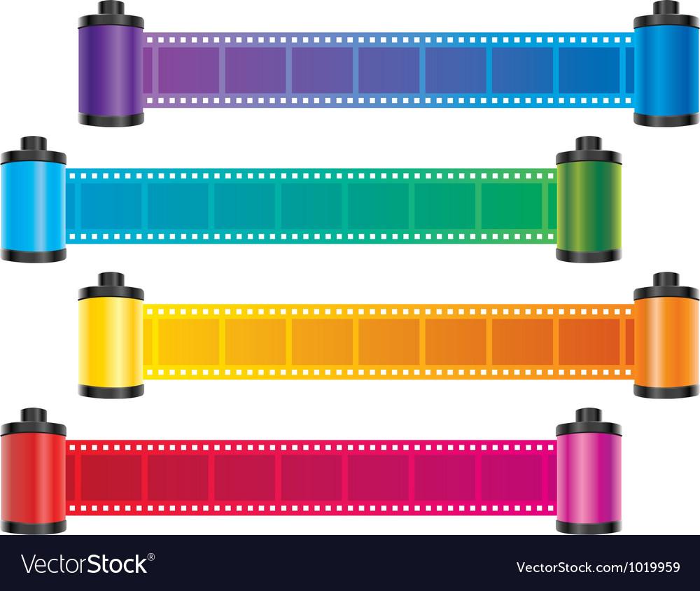 Film strip color vector   Price: 1 Credit (USD $1)
