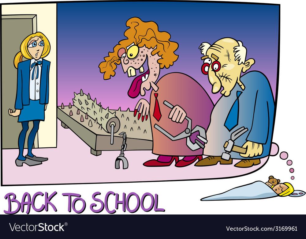 Back to school cartoon vector | Price: 1 Credit (USD $1)