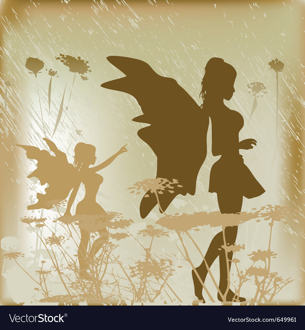 Fairy background vector | Price: 1 Credit (USD $1)