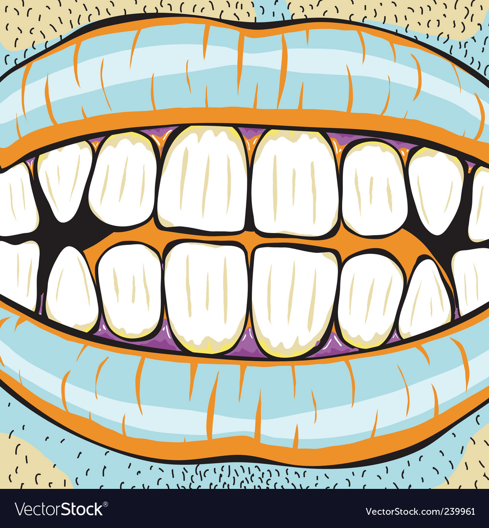 Mouth vector | Price: 1 Credit (USD $1)