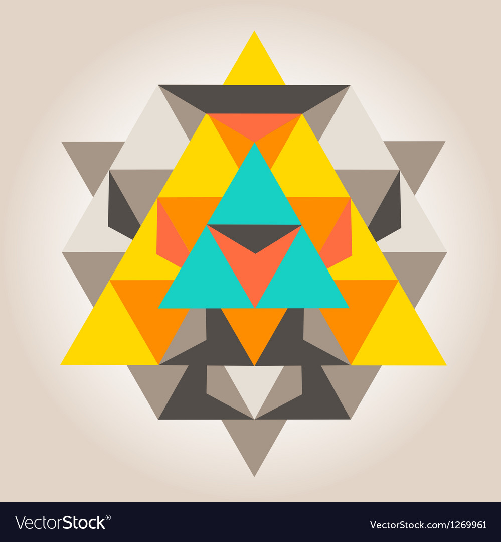 Unique geometrical design vector | Price: 1 Credit (USD $1)
