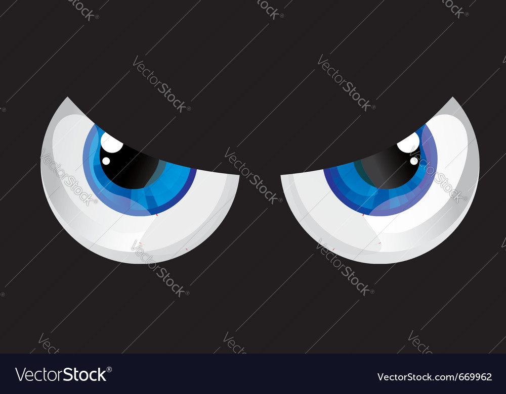 Bulging eyes vector | Price: 1 Credit (USD $1)