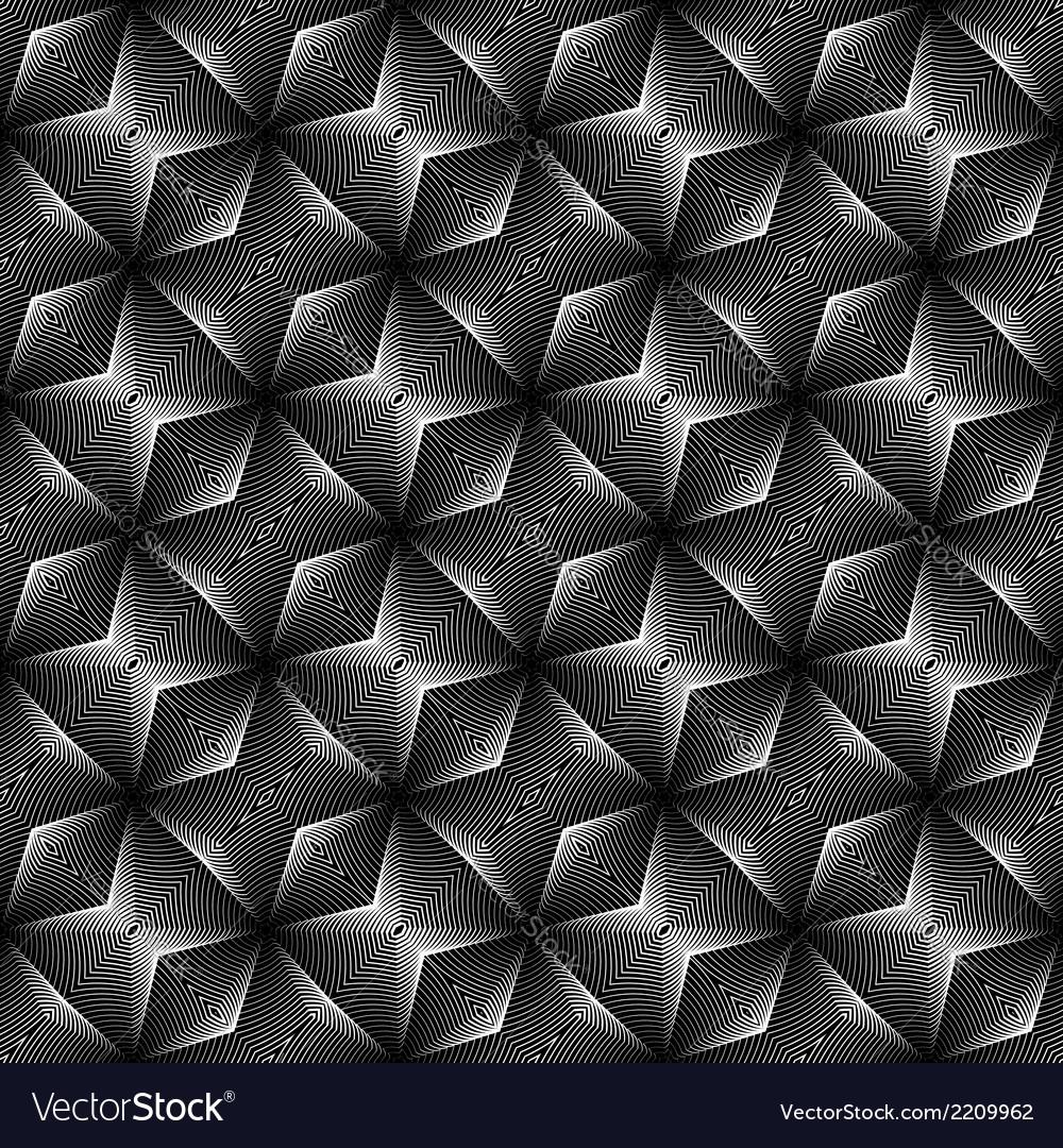 Design seamless monochrome diagonal pattern vector | Price: 1 Credit (USD $1)