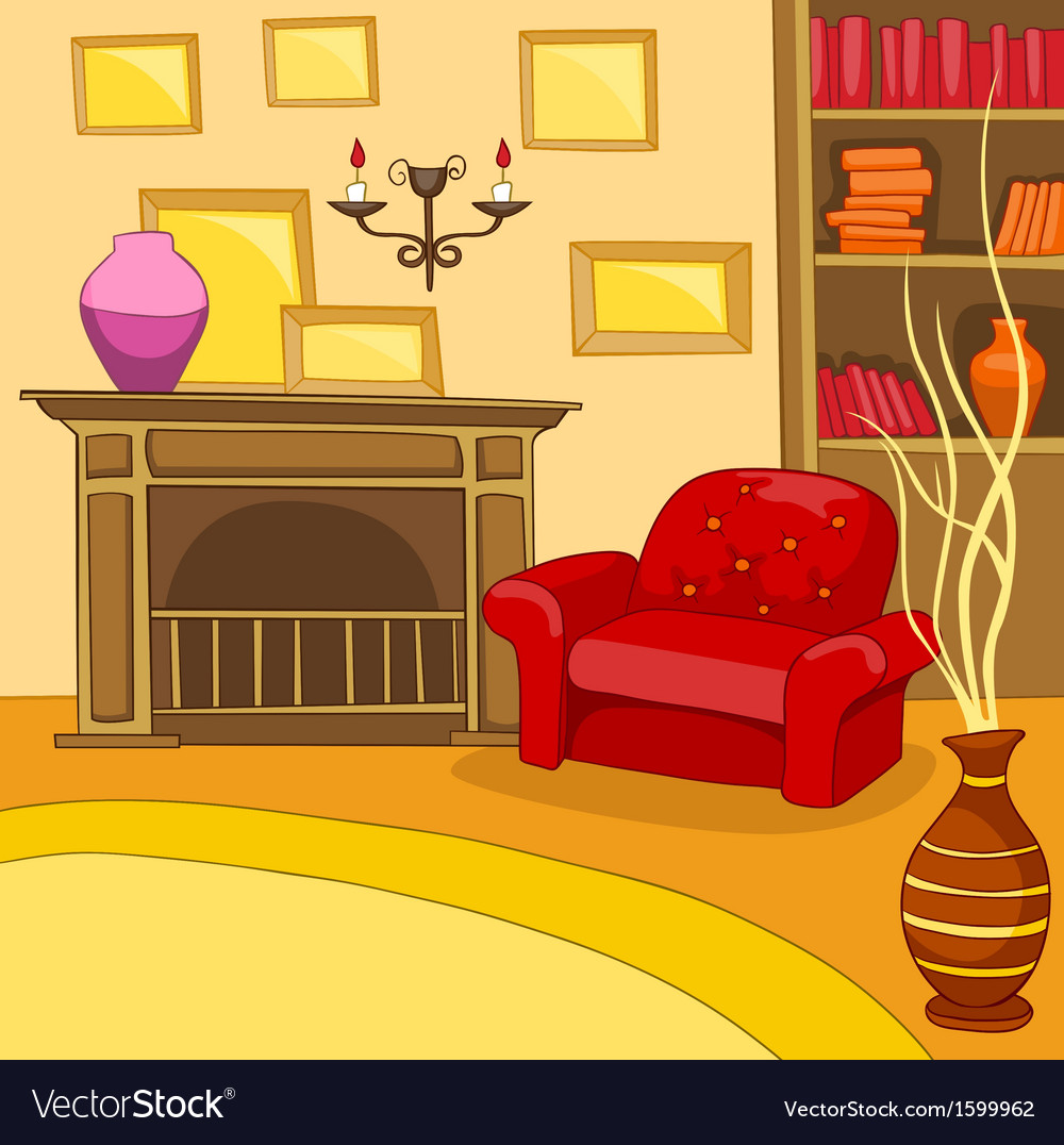 Room cartoon vector | Price: 1 Credit (USD $1)