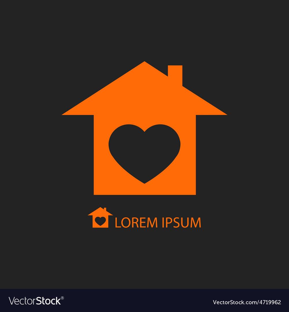 Sweet home logo vector | Price: 1 Credit (USD $1)
