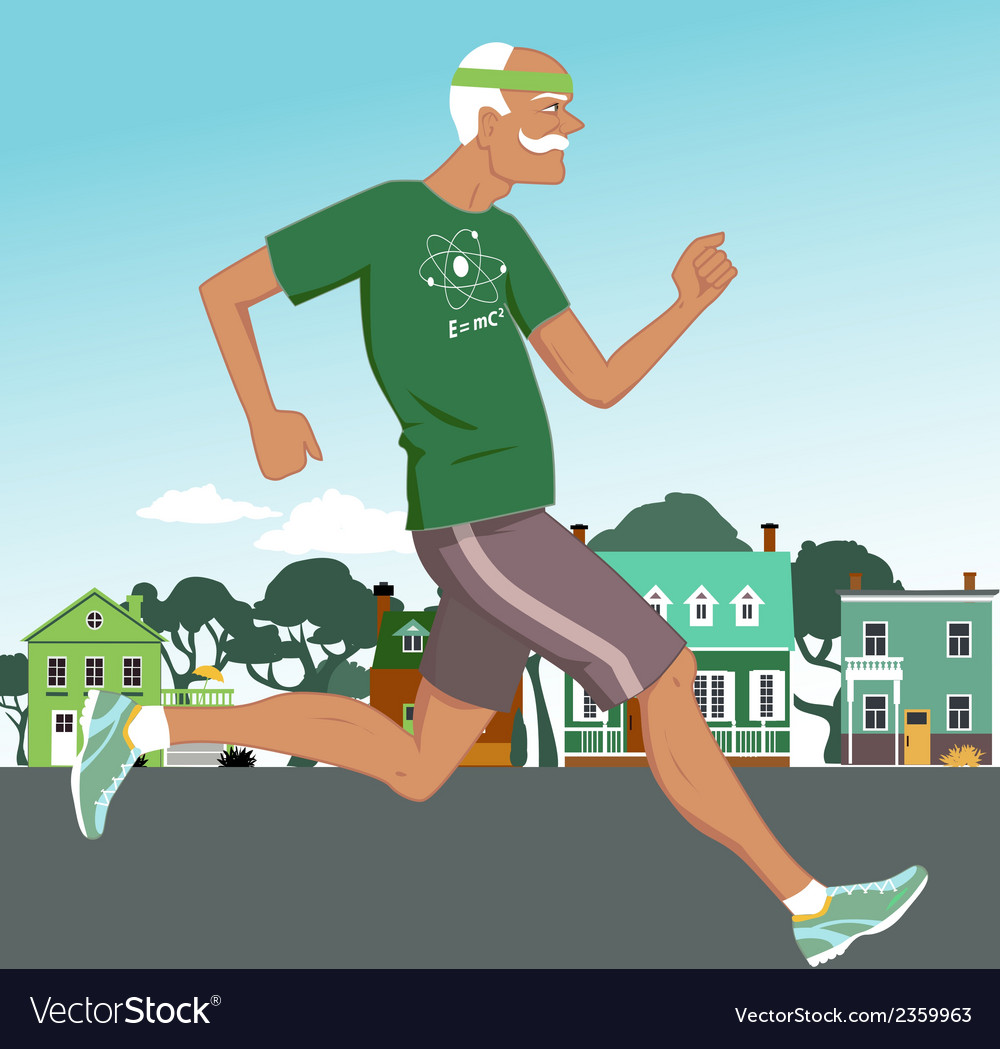 Active at any age vector | Price: 1 Credit (USD $1)
