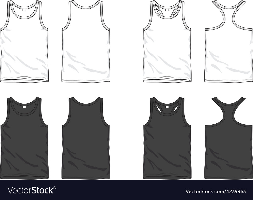 Blank top vector | Price: 1 Credit (USD $1)