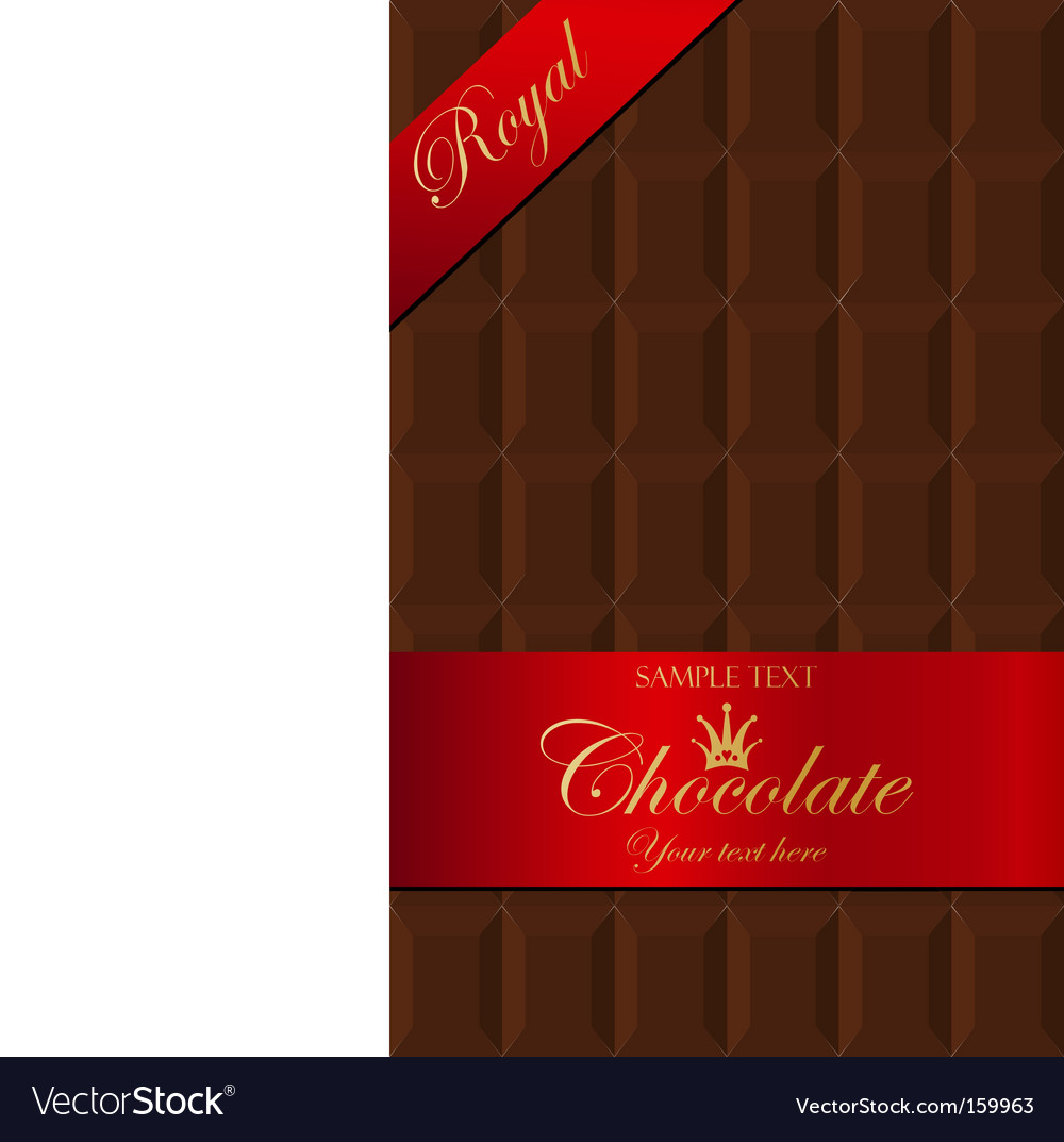 Chocolate packaging vector | Price: 1 Credit (USD $1)