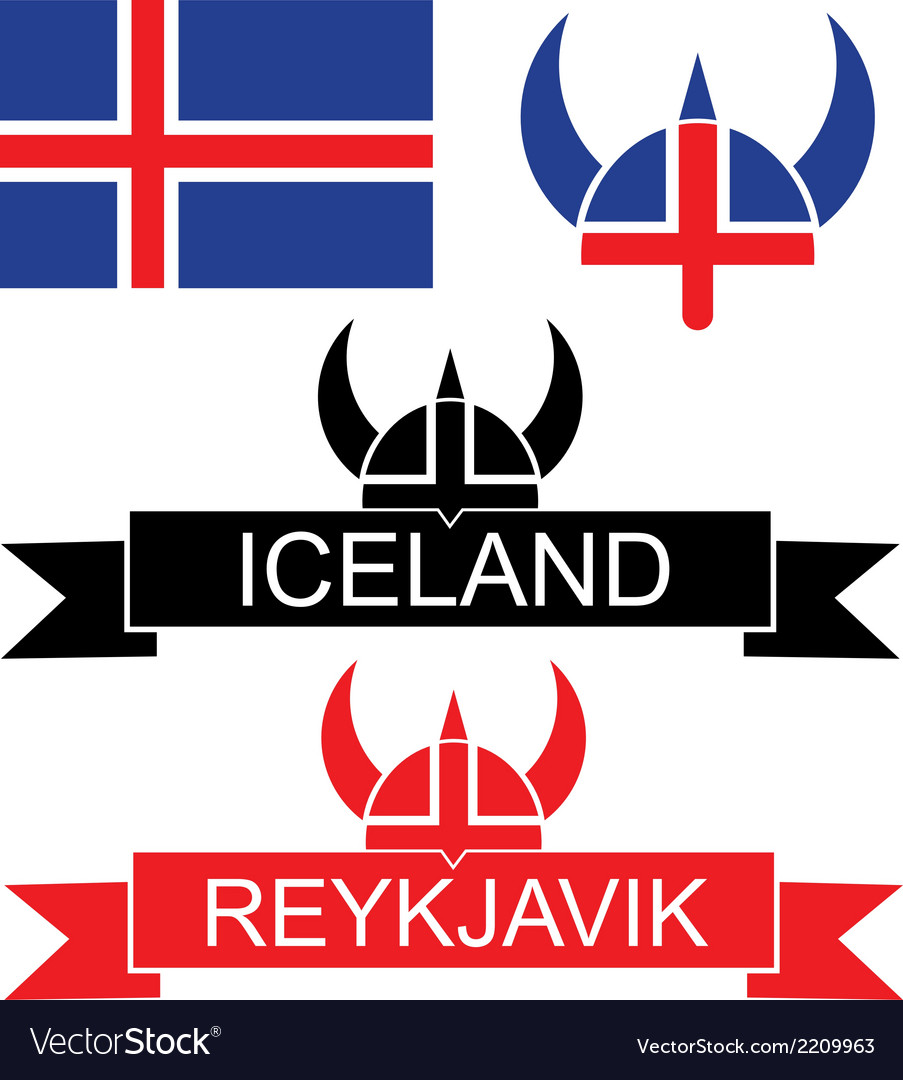 Iceland vector | Price: 1 Credit (USD $1)
