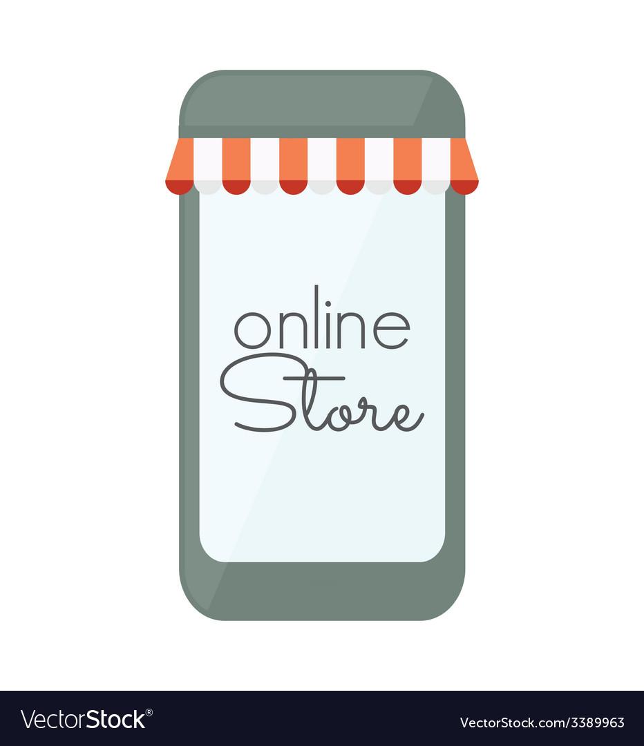 Internet store mobilni3 vector | Price: 1 Credit (USD $1)