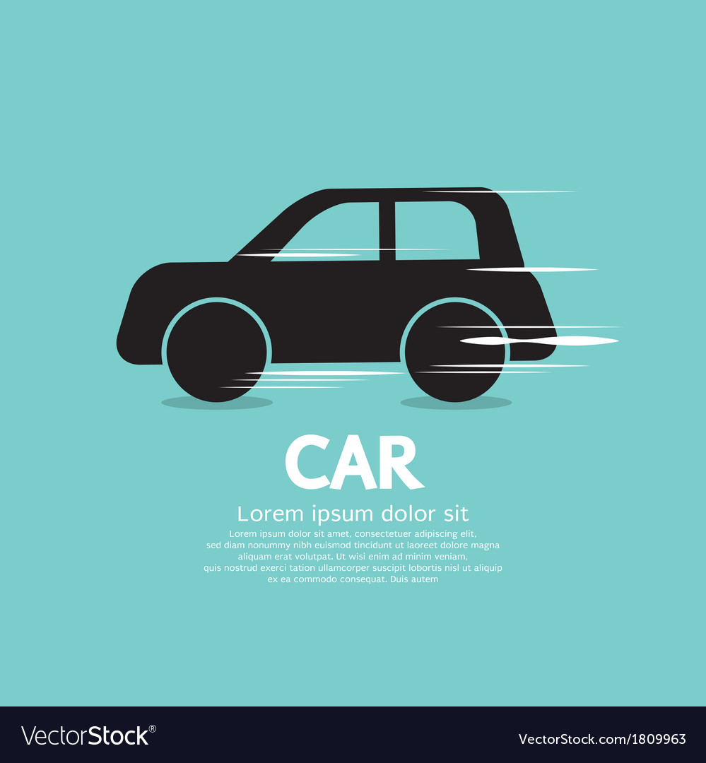 Speed car eps10 vector | Price: 1 Credit (USD $1)