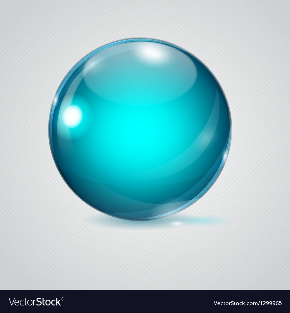 Glass sphere vector | Price: 1 Credit (USD $1)