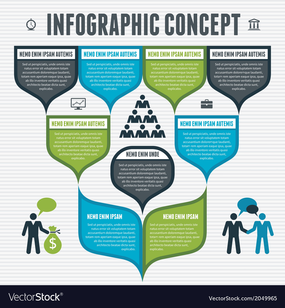 Infographic concept vector | Price: 1 Credit (USD $1)