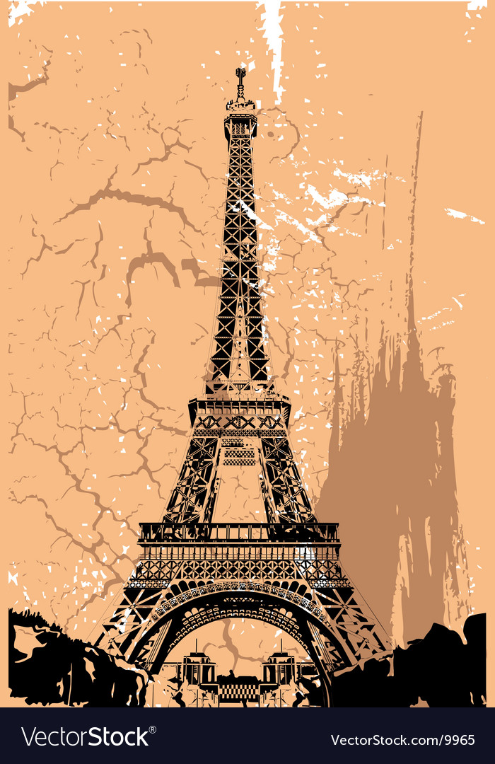 Paris vector | Price: 1 Credit (USD $1)