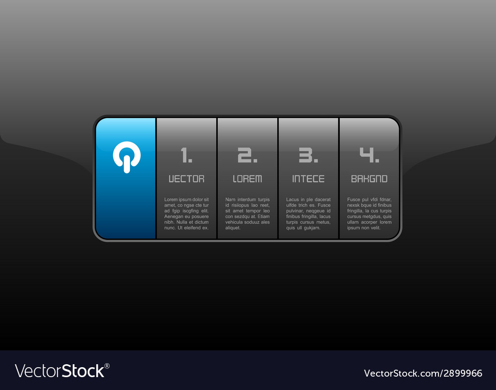 Interface blue vector | Price: 1 Credit (USD $1)