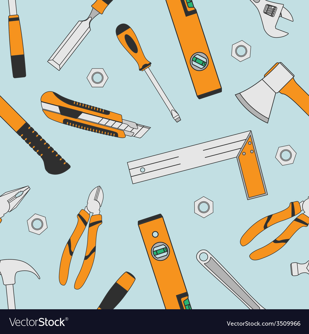 Tools seamless 5 vector | Price: 1 Credit (USD $1)