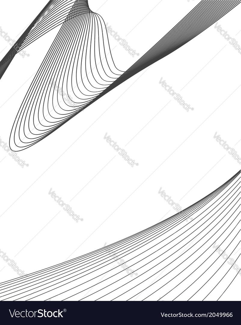 Wavy design vector | Price: 1 Credit (USD $1)