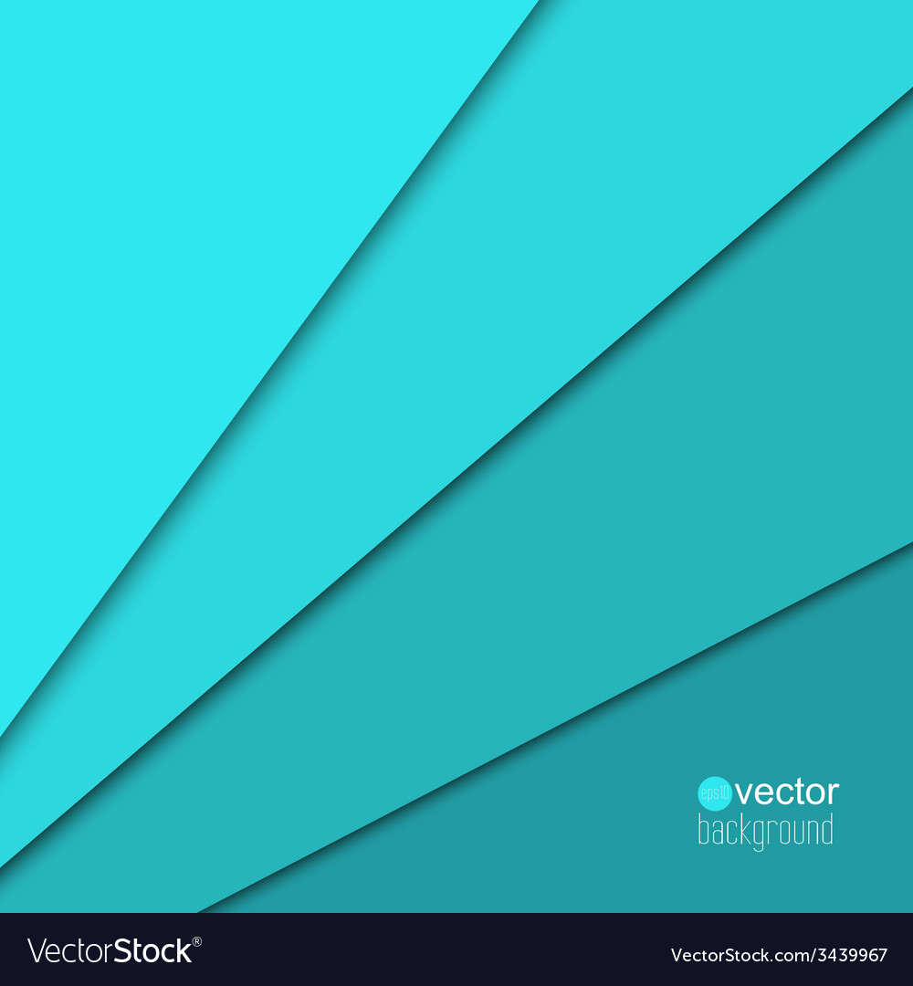 Abstract background of the paper strips turquoise vector | Price: 1 Credit (USD $1)