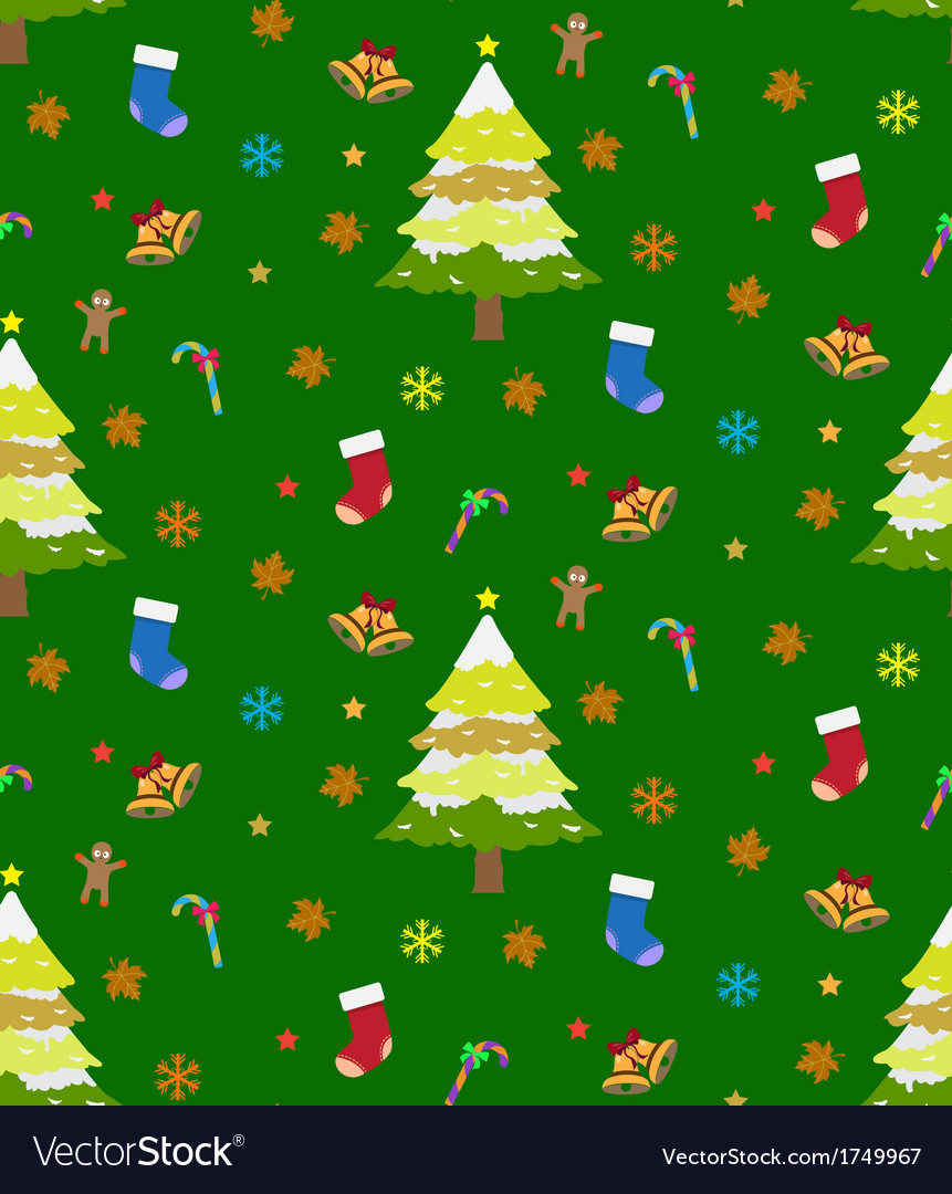 Background christmas seamless vector | Price: 1 Credit (USD $1)