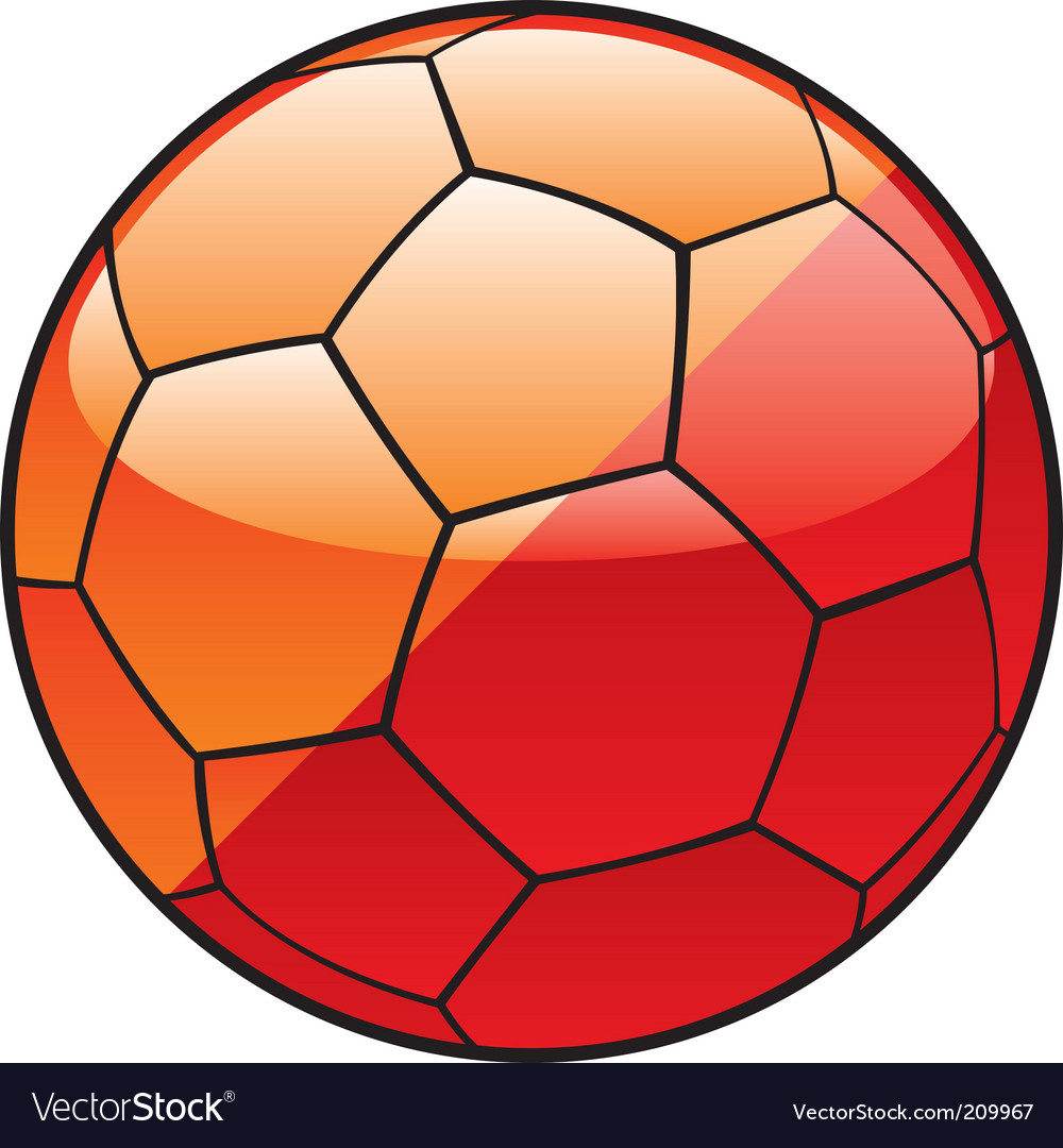 Butane flag on soccer ball vector | Price: 1 Credit (USD $1)