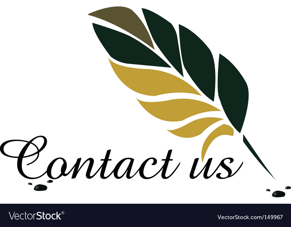 Contact us vector | Price: 1 Credit (USD $1)