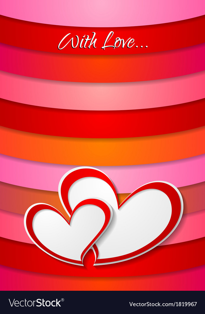 Valentines day bright abstract background vector | Price: 1 Credit (USD $1)