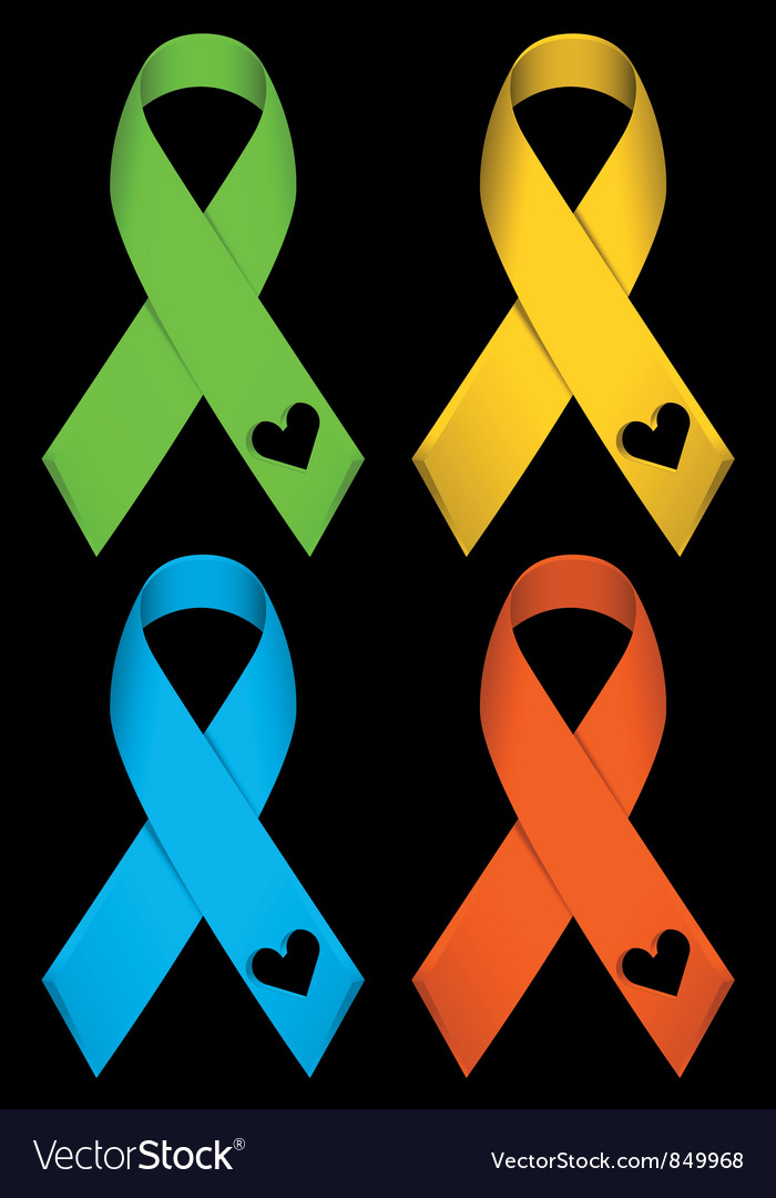 Colourful ribbons vector | Price: 1 Credit (USD $1)