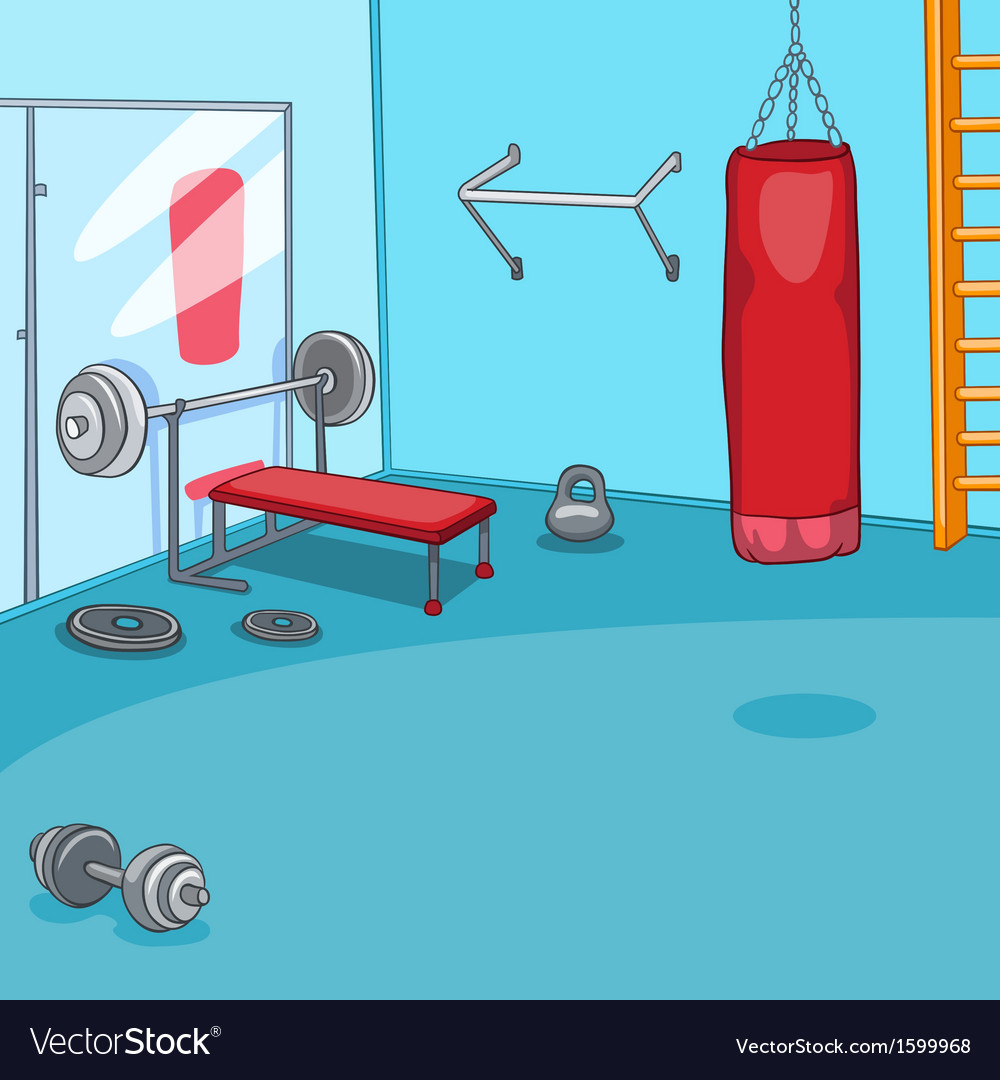 Gym room vector | Price: 1 Credit (USD $1)