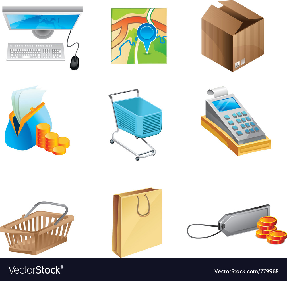 Online shopping concept vector | Price: 3 Credit (USD $3)