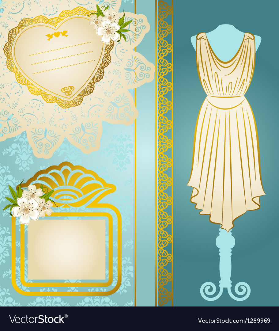 Fashionable dresses vector | Price: 1 Credit (USD $1)