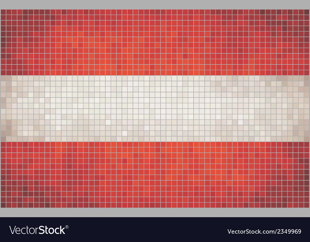 Flag of austria vector | Price: 1 Credit (USD $1)