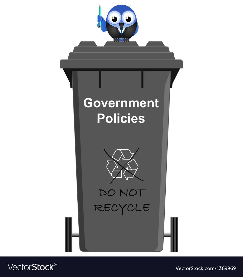 Government policy bin vector | Price: 1 Credit (USD $1)