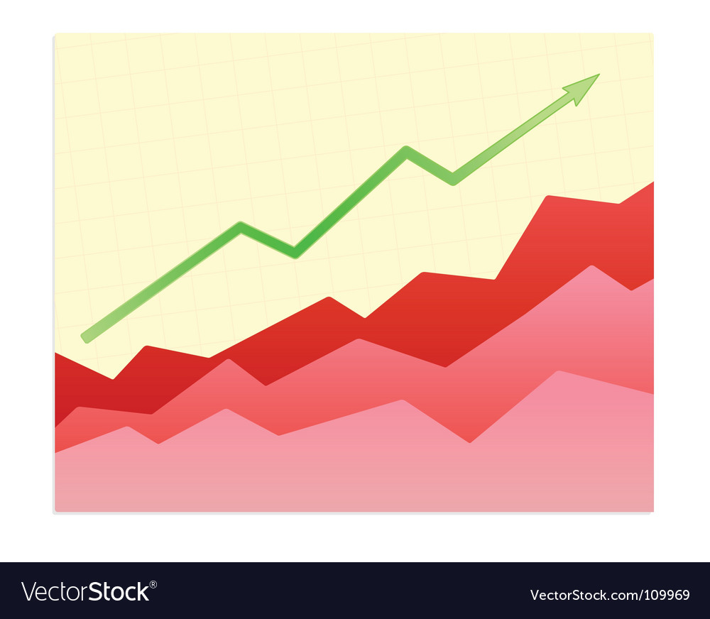 Success trend vector | Price: 1 Credit (USD $1)