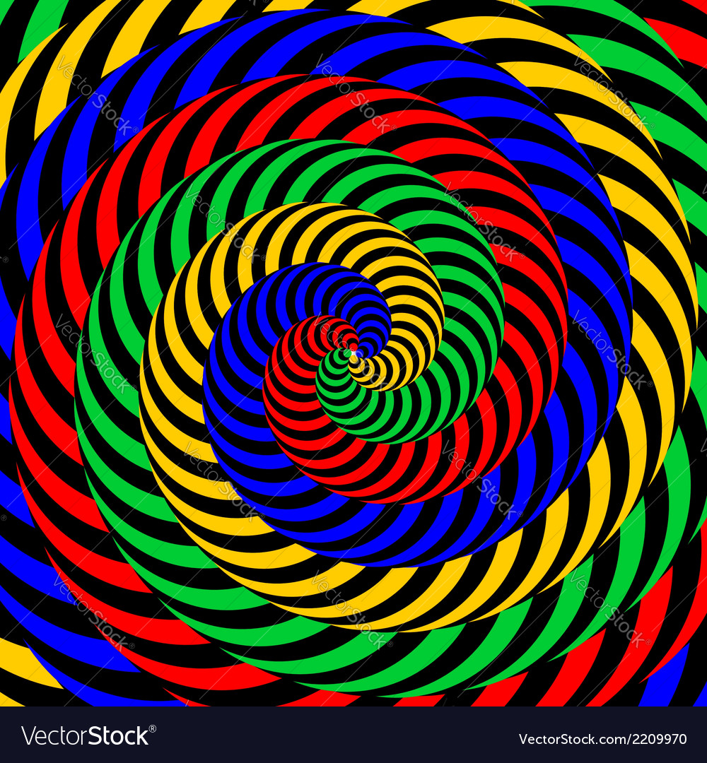Design colorful whirlpool circular background vector   Price: 1 Credit (USD $1)
