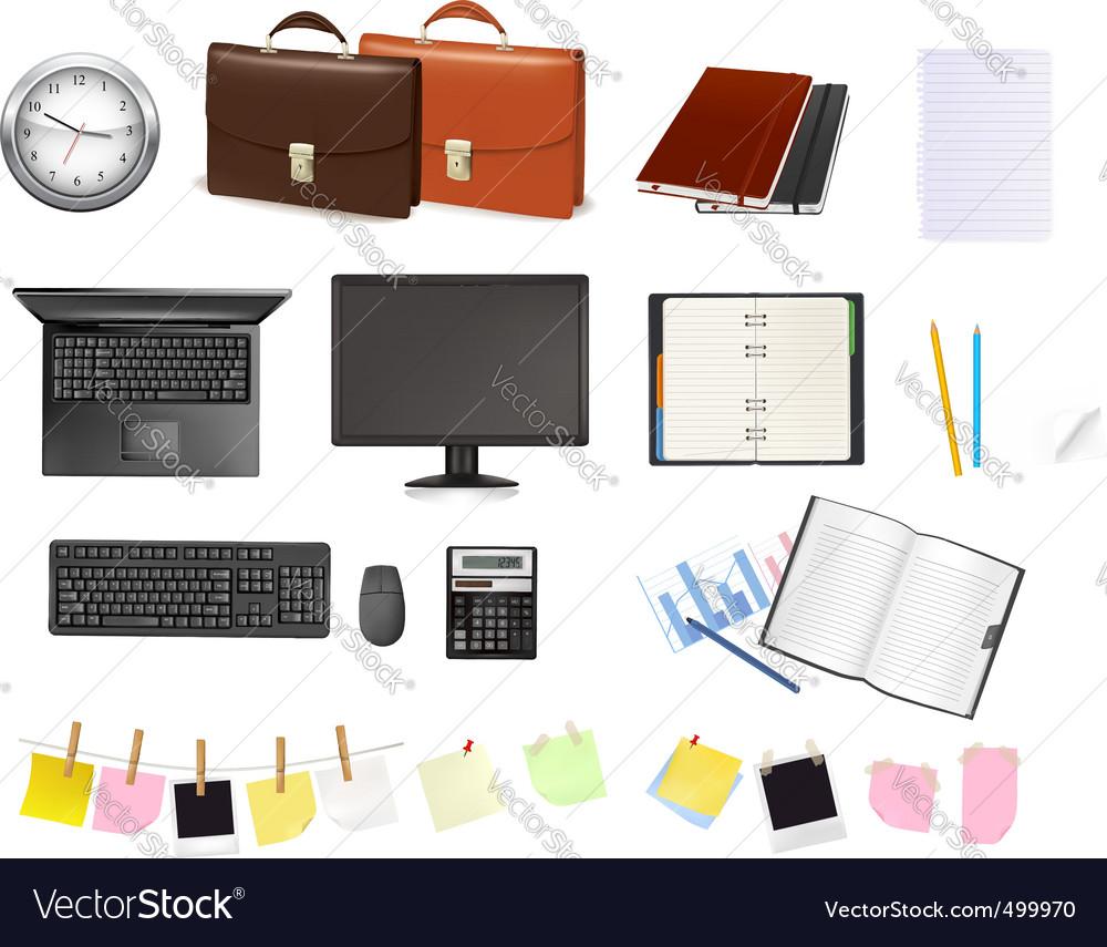 Super mega set business elements3 vector | Price: 1 Credit (USD $1)