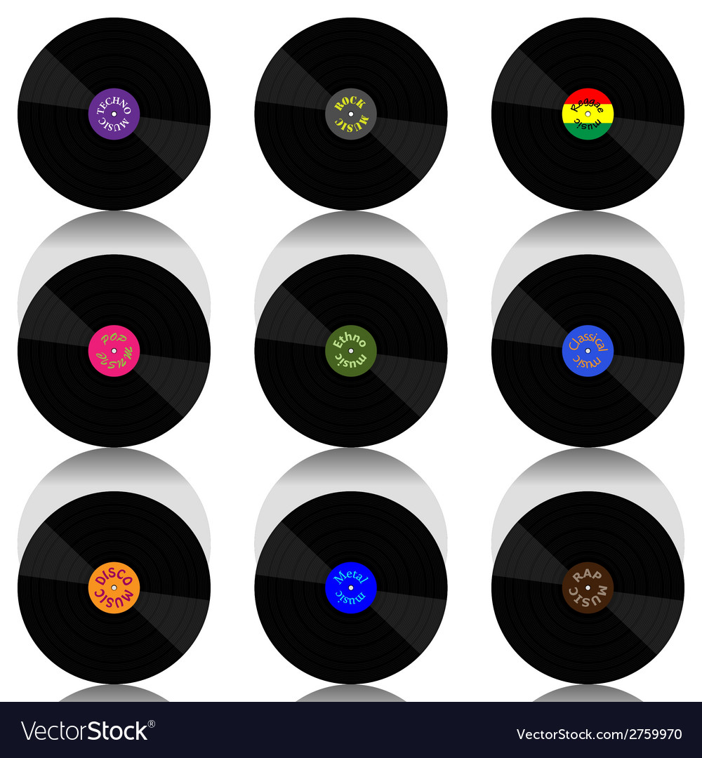 Vinyl record-lp set vector | Price: 1 Credit (USD $1)
