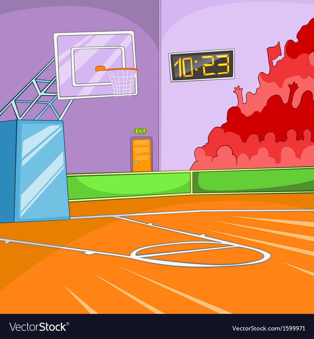 Basketball stadium vector | Price: 1 Credit (USD $1)