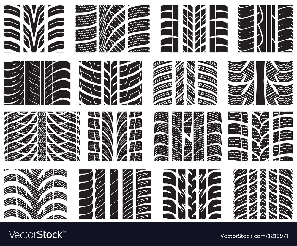 Car tires vector | Price: 1 Credit (USD $1)